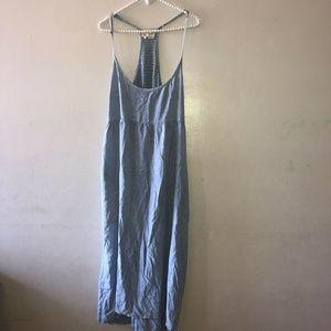 Anthropologie Saturday Sunday Strap Dress Blue L